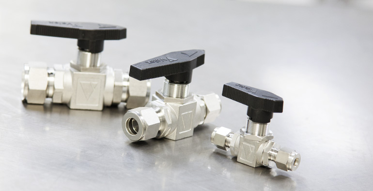 Valex Stainless Steel Mini Ball Valves